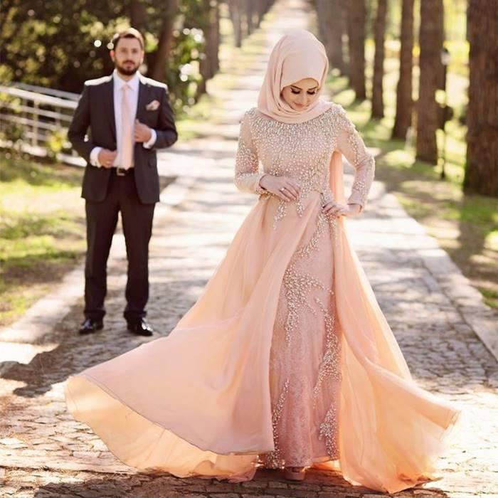 5 Inspirasi Gaun Pesta Muslim Formal Tokopedia Blog