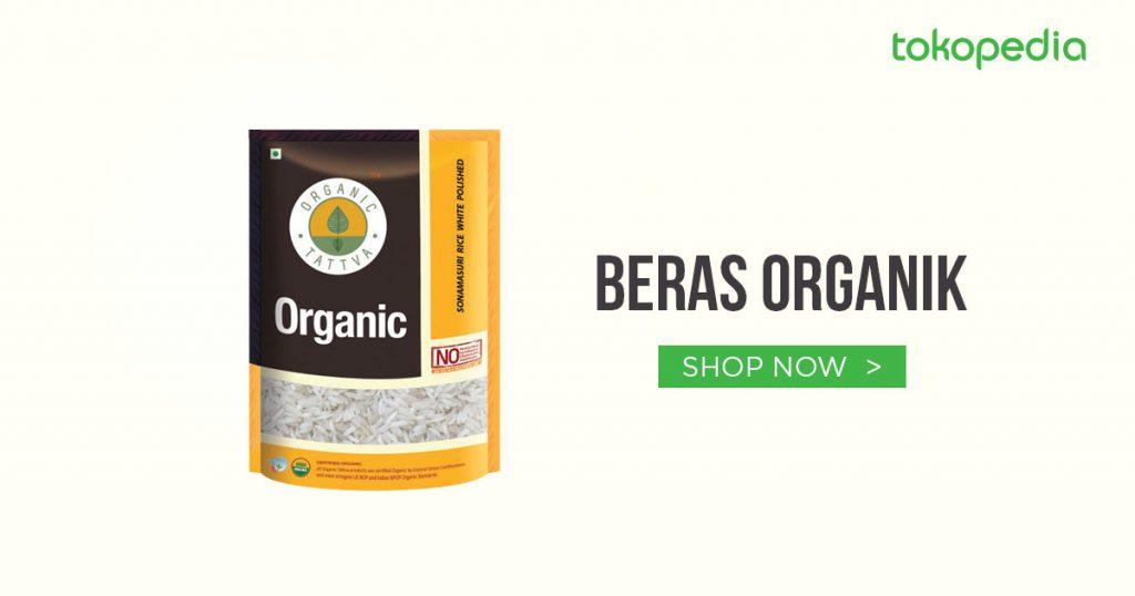 beras organik
