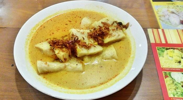 makanan khas palembang - burgo