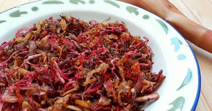 gerang sambal bawang makanan khas bali