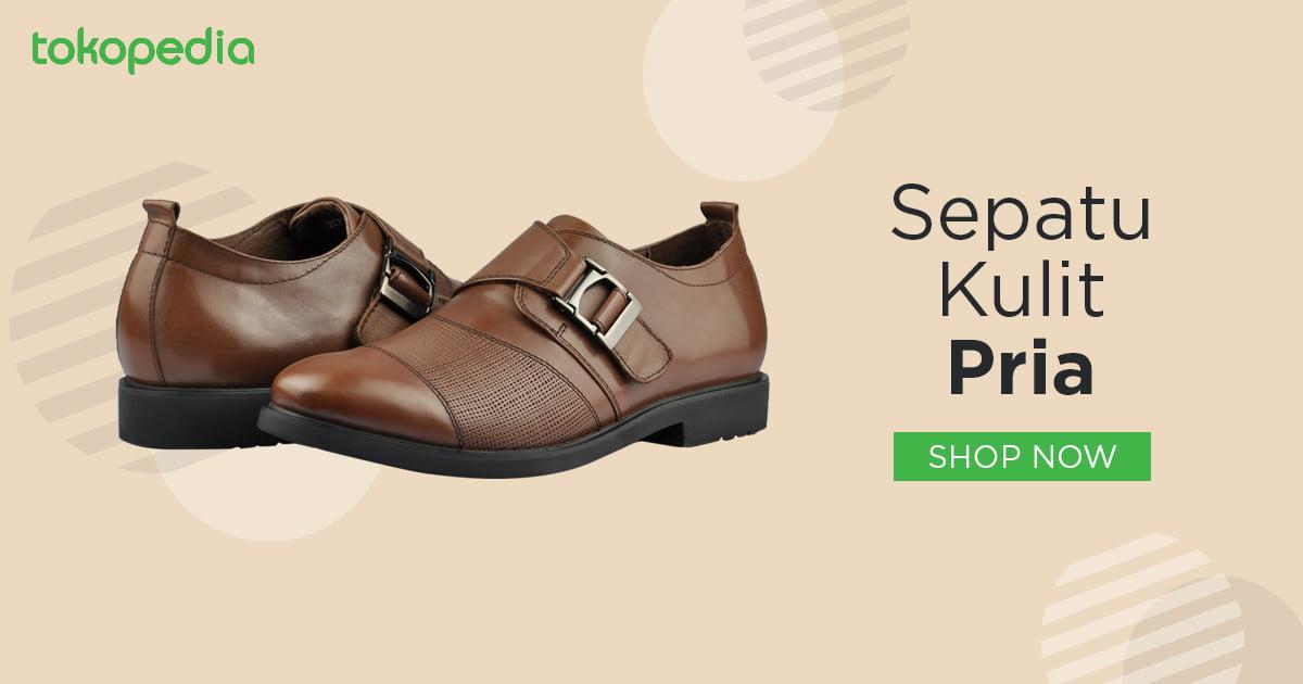 Jual Sepatu Kulit Pria Terbaru - Daftar Harga Sepatu Kulit Asli Pria ... 5d8b341a58