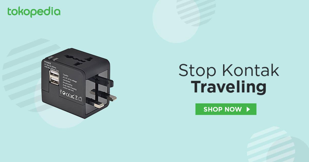stop kontak traveling