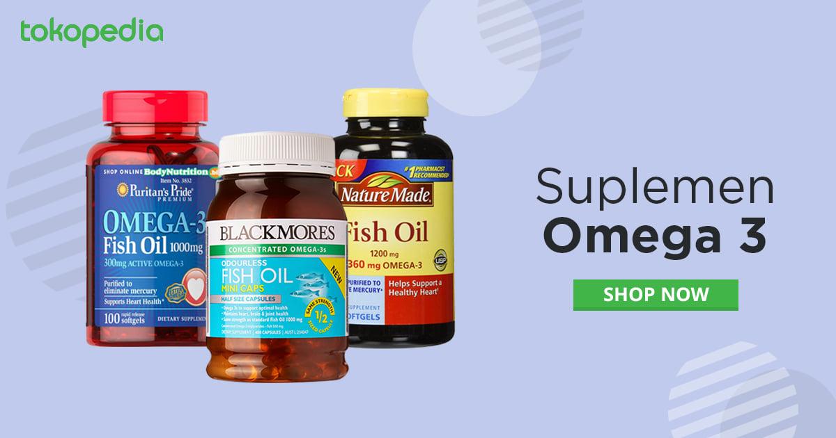 suplemen Omega 3