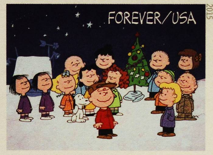 film keluarga natal - charlie brown christmas
