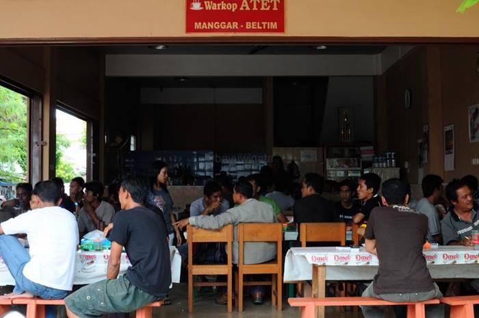 kedai kopi di Belitung - Warung Kopi Atet