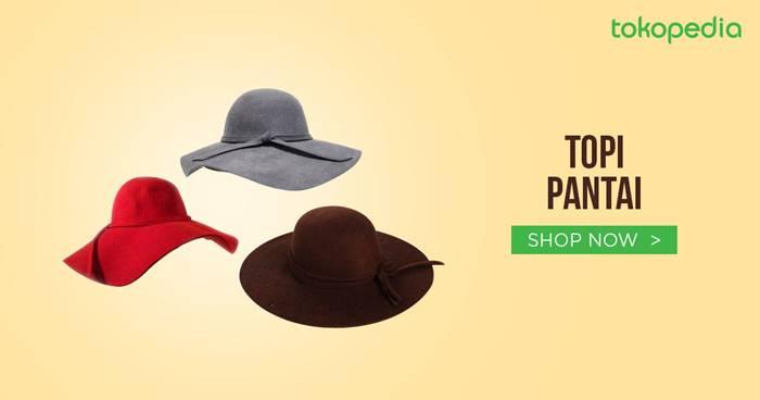 Jual Topi Pantai Model Terbaru   Terlengkap - Harga Murah   Grosir ... c8e21a725e