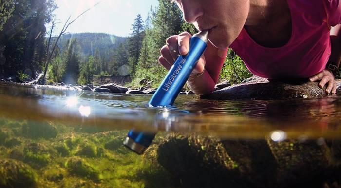 gadget traveling water purifier