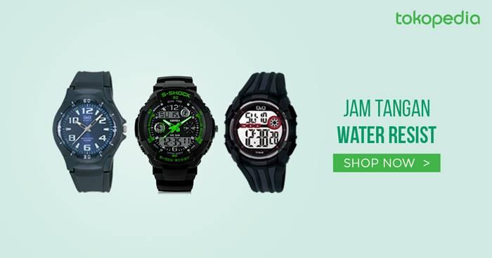 jam tangan water resistent