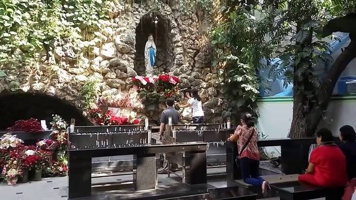 Lokasi ziarah katolik gua maria laudres