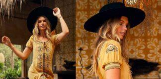 15 Inspirasi Fashion Wanita Bohemian Style