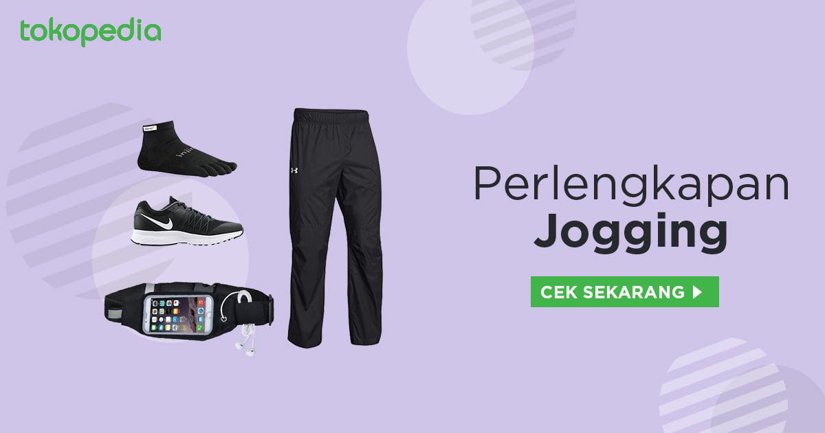 Perlengkapan jogging