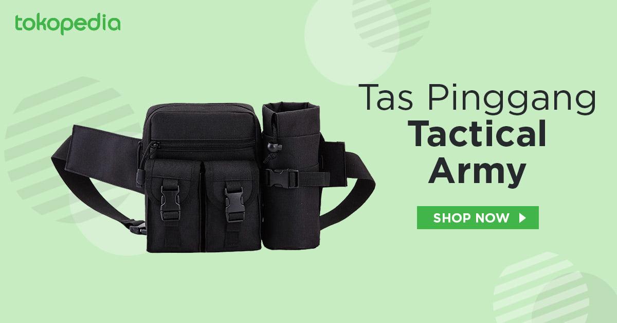 tas pinggang tactical army