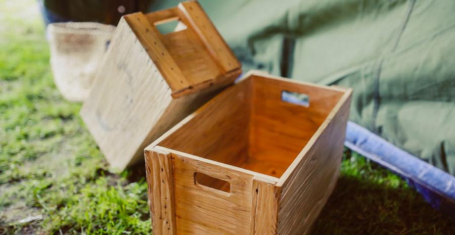 9 Kreasi Kerajinan Tangan DIY dari Kotak Kayu Bekas ...