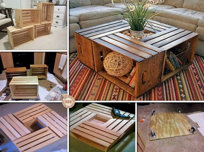 Kursi Kayu Bekas Jogja  9 kreasi kerajinan tangan diy dari kotak kayu bekas