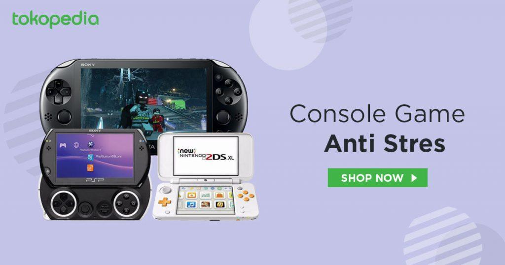 Game console portable