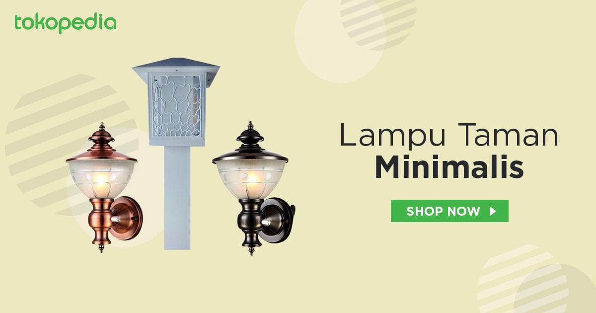 Jual Lampu Taman Minimalis Murah Harga Terbaru 2021
