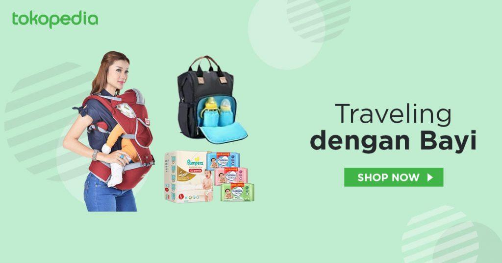 Perlengkapan travelling bayi