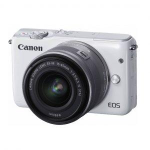 kamera mirrorless murah terbaik - Canon EOS M10