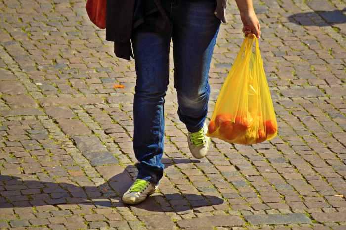 item wajib dibawa saat mudik - kantong plastik