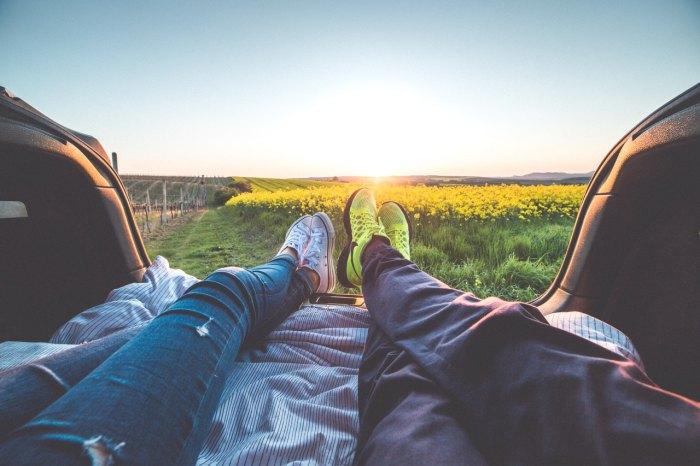 Tips traveling - bangun lebih pagi