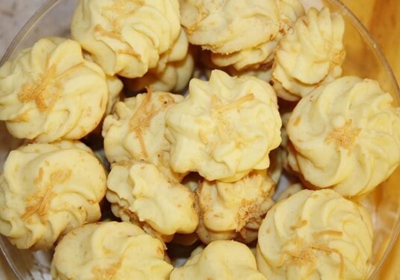 resep kue semprit, cara membuat kue semprit, bahan bahan kue semprit