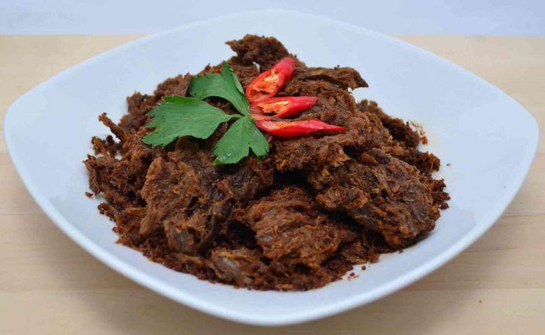 resep dan cara membuat rendang daging lebaran