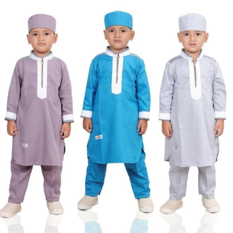 model baju lebaran anak, model baju lebaran anak 2019, tren baju lebaran anak