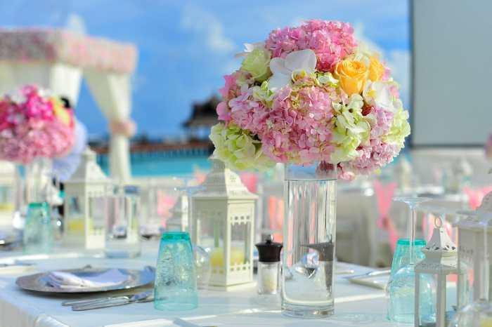 dekorasi lebaran - hiasan lebaran bunga
