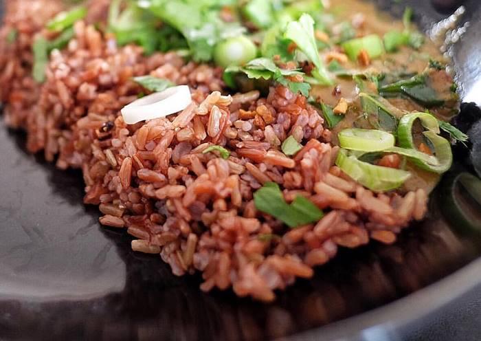 menu buka puasa sehat nasi merah