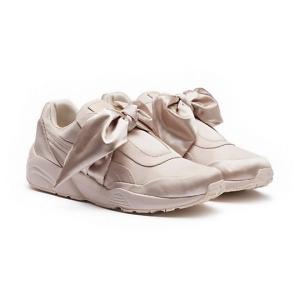 sepatu putih rihanna bow