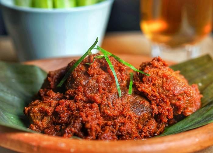 resep rendang daging, cara membuat rendang daging, bahan rendang daging