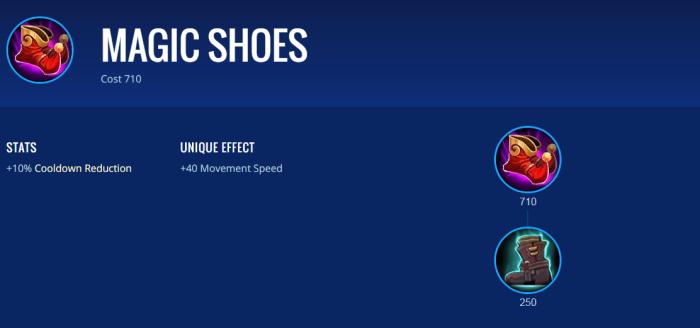 Magic Shoes - Item Mobile Legends Terbaik