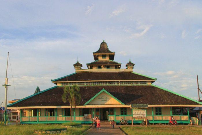 wisata masjid jami pontianak