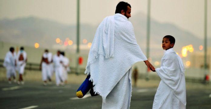cara memakai kain ihram
