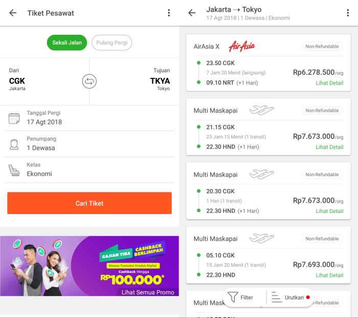 Cara Pesan Tiket Pesawat Di Tokopedia Tokopedia Blog