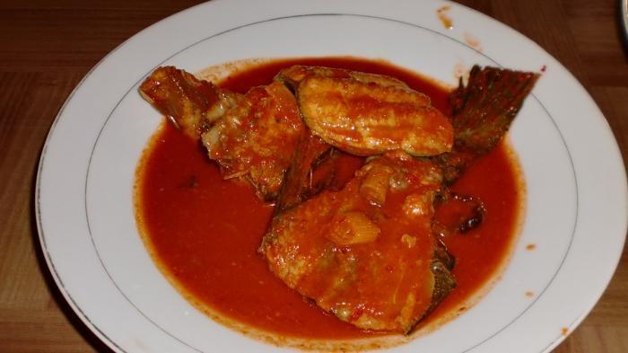 Asam Pedas Ikan baung Khas Melayu