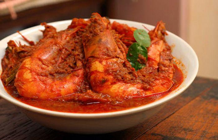Makanan khas Pekanbaru - Gulai belacan