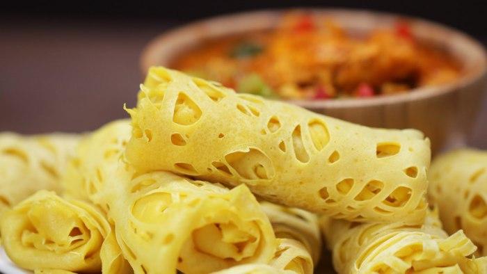 Makanan kHas pekanbaru - Roti Jala