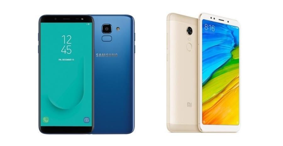 Review Samsung Galaxy J6 Vs Xiaomi Redmi 5 Plus Tokopedia Blog