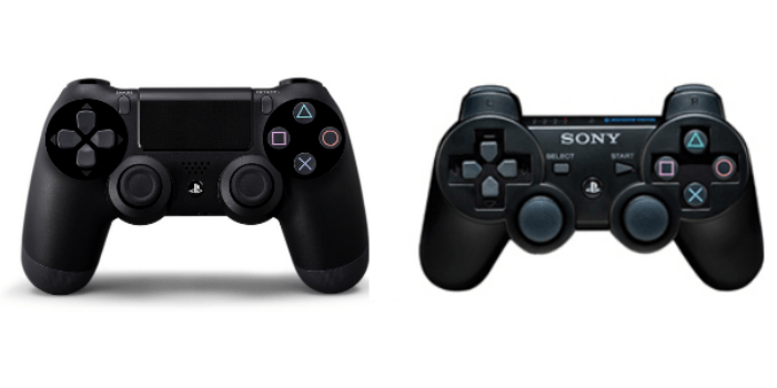 Stik PS3 vs PS4