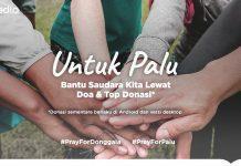 Tokopedia Donasi Palu: Ulurkan tangan untuk saudara sebangsa kita