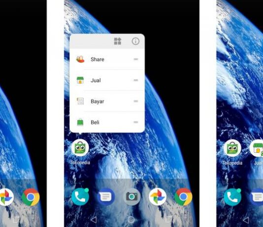 android app shortcut