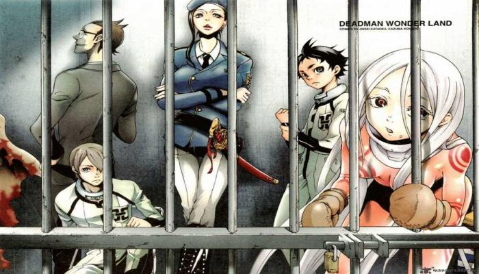 Film Anime Horor Terbaik - Deadman Wonderland