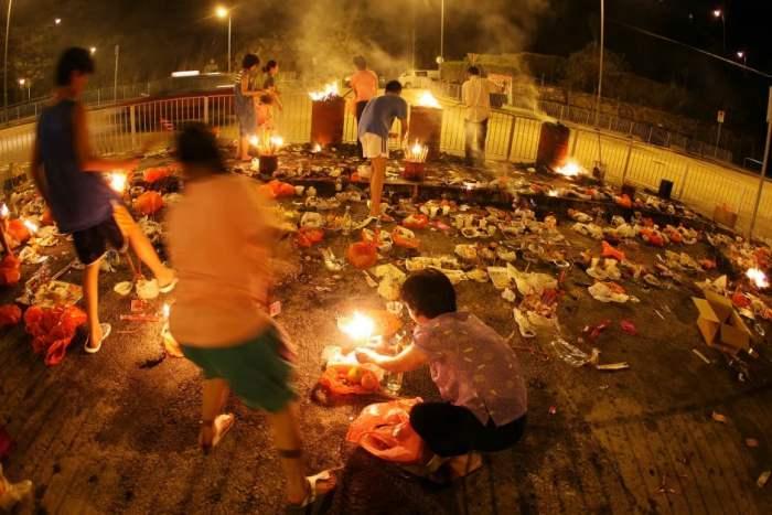 Perayaan Halloween di Hongkong