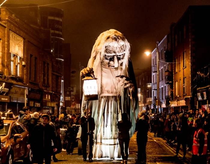 Perayaan Halloween di Irlandia