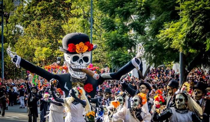 Perayaan Halloween di Meksiko