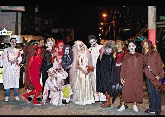 Perayaan Halloween di Filipina