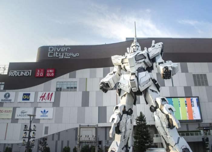 Museum Gundam - Tempat Liburan di Tokyo