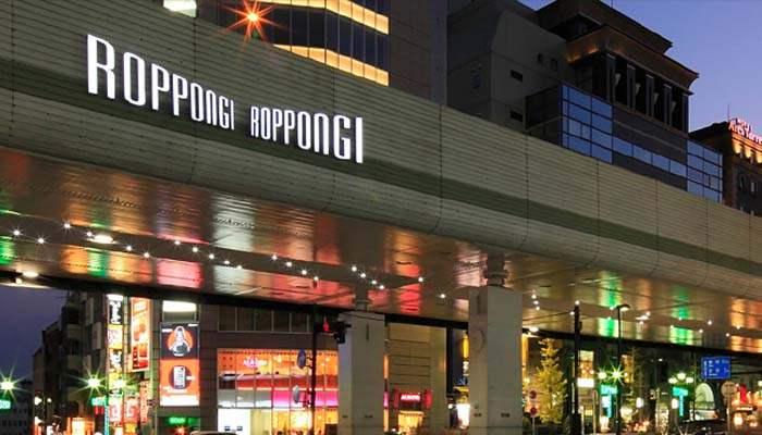 Roppongi - Tempat wisata malam di Tokyo