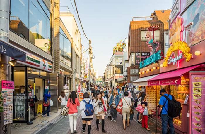 Harajuku - Wisata Belanja di Tokyo